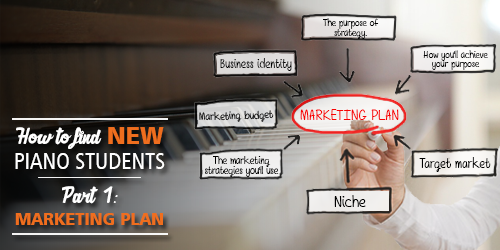 How to find new piano students | Part 1: The Marketing Plan