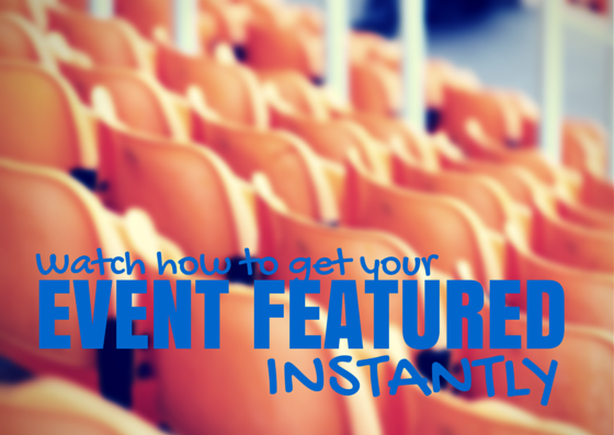 Give your piano events maximum exposure with featured events
