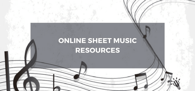 Online Sheet Music Resources