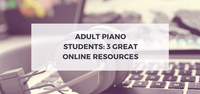 adult piano students
