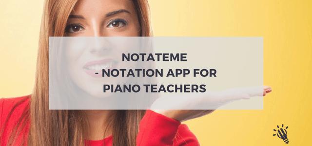 piano teachers notation app