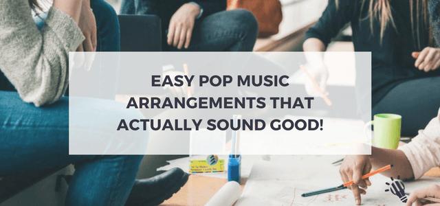 pop music arrangements