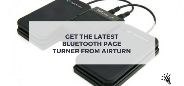 bluetooth page turner