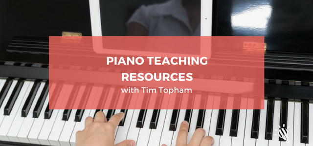 piano teaching resources