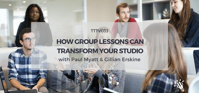 group lessons transform studio paul myatt gillian