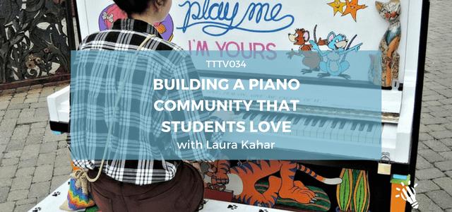 building piano community students laura kahar