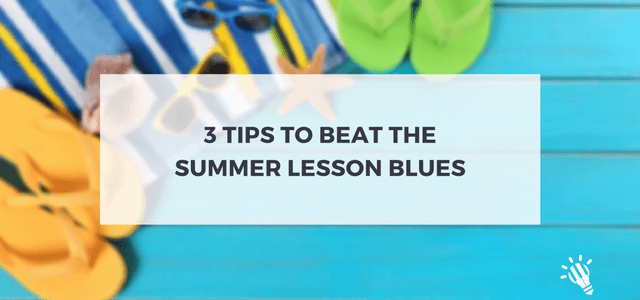 beat summer lesson blues
