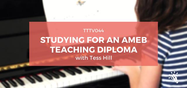 AMEB Teaching Diploma