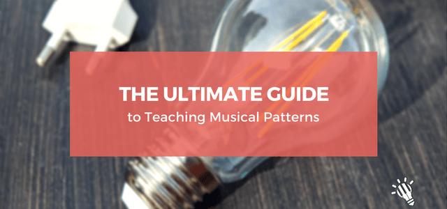 teaching musical patterns
