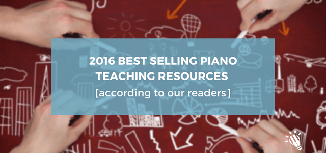 best selling piano teaching