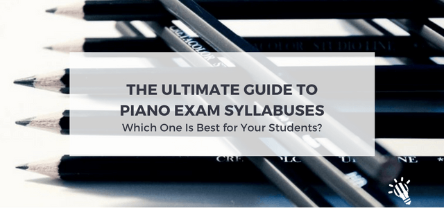 piano exam syllabuses