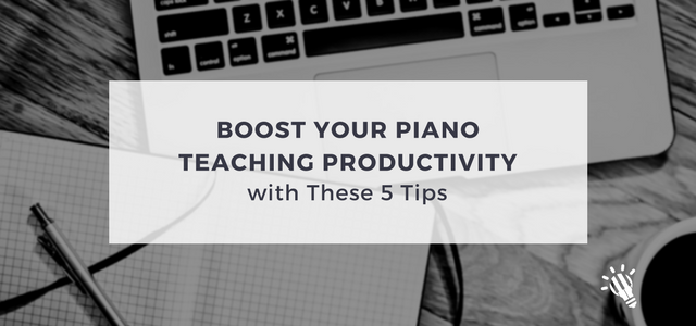 teaching productivity