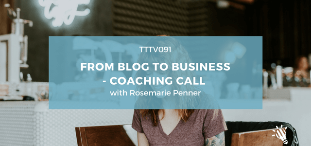 blog to business