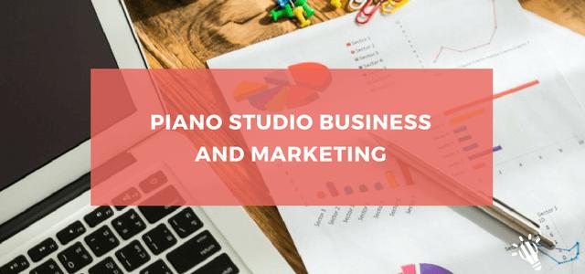 piano studio business