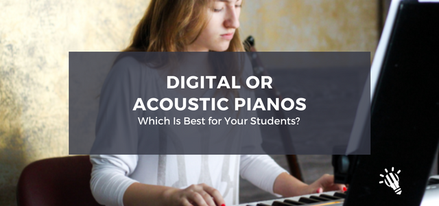 digital or acoustic pianos