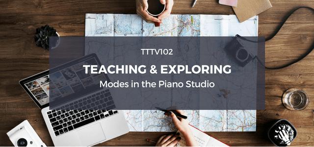 piano studio modes