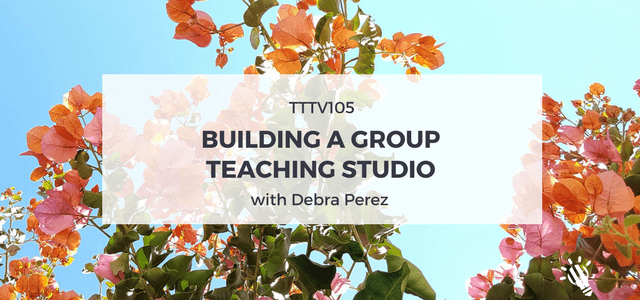 group teaching studio debra perez
