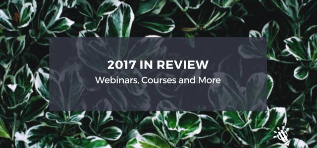 2017 review webinar courses