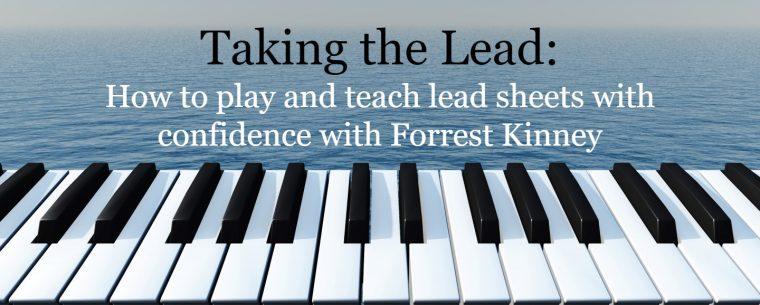 piano lead sheets webinar