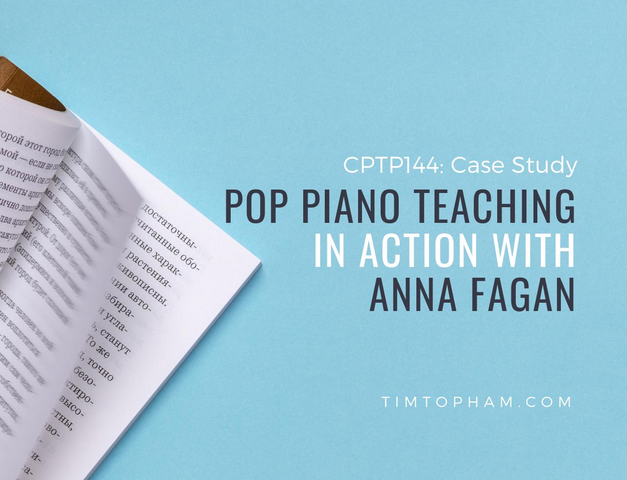 pop piano teaching
