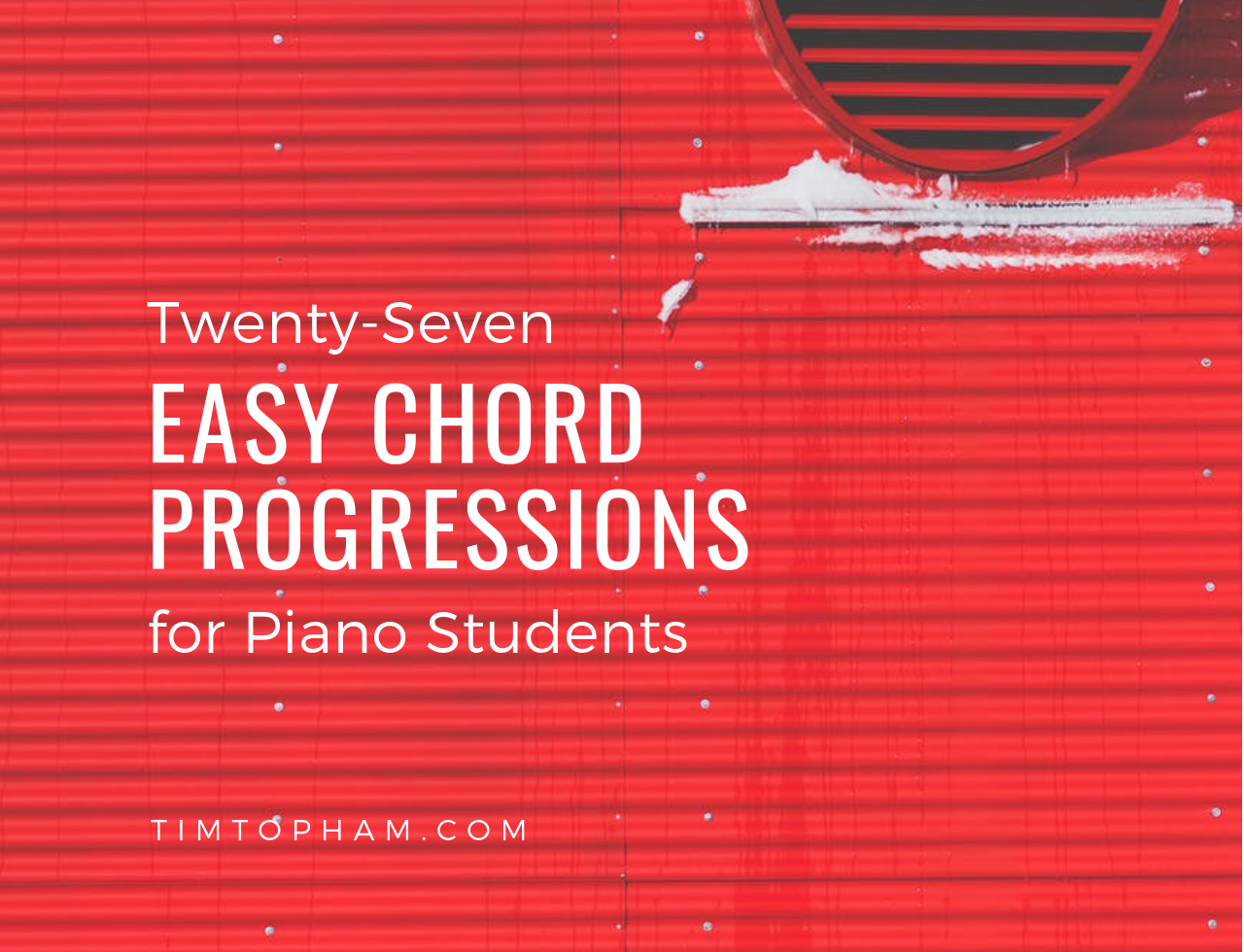 27 Easy Chord Progressions for Your Piano Students - Creative Music
