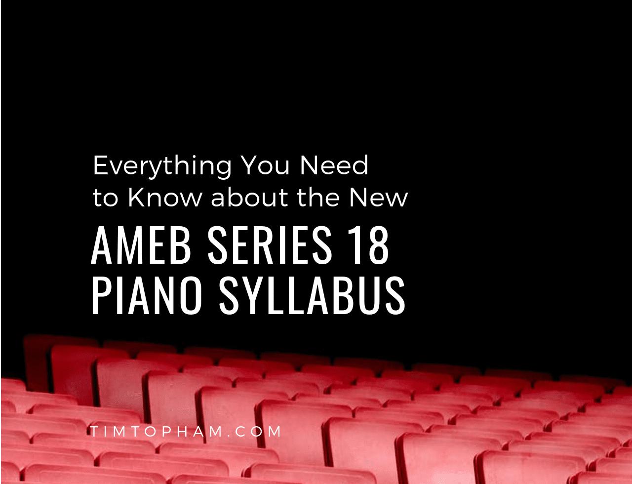 AMEB Series 18 Piano