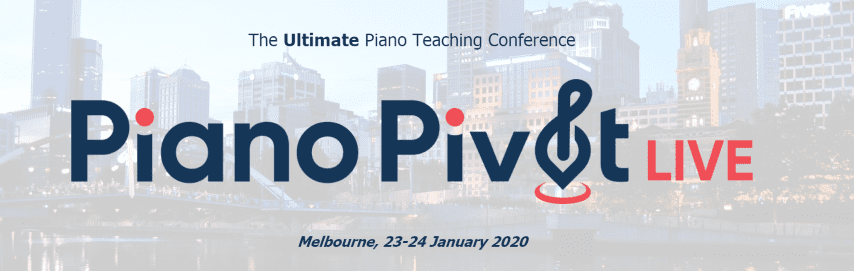 The Ultimate Piano Teaching Conference Coming in 2020