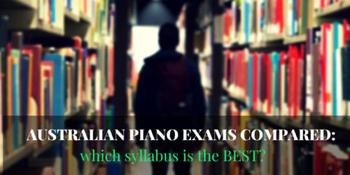 Australian Piano exams